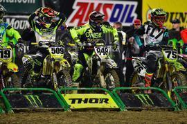 Joan Cros en el AMA Supercross 2018