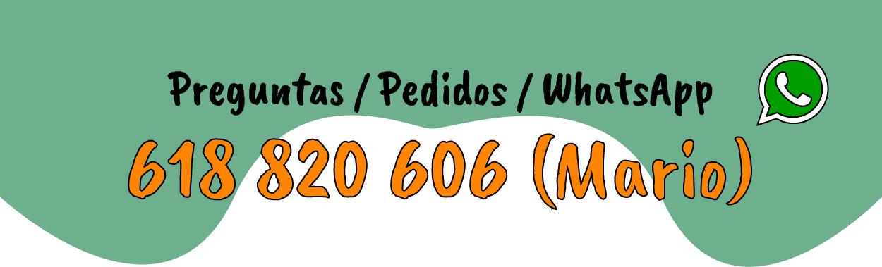 Teléfono de contacto - WhatsApp: 618 820 606 (Mario)