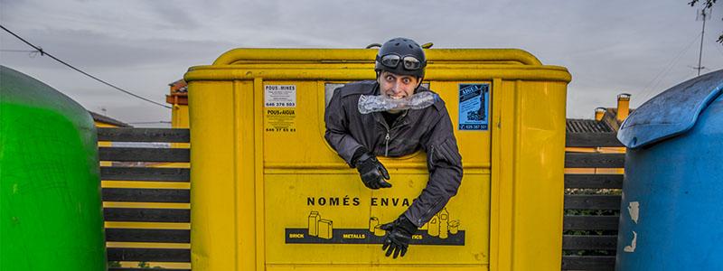 Solo material reciclado para el reto mongol rally de papanatas team a mongolia